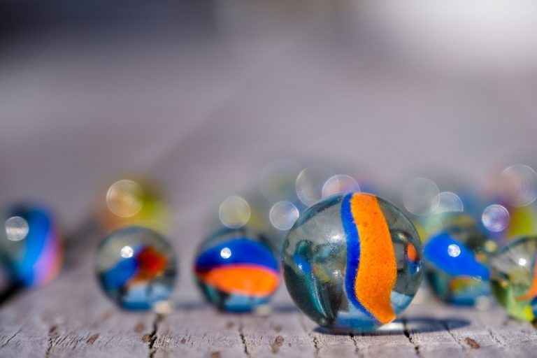 marbles, glass ball, round