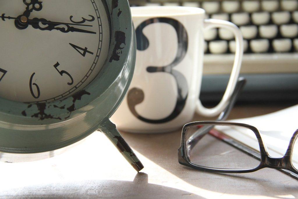 time, work, clock