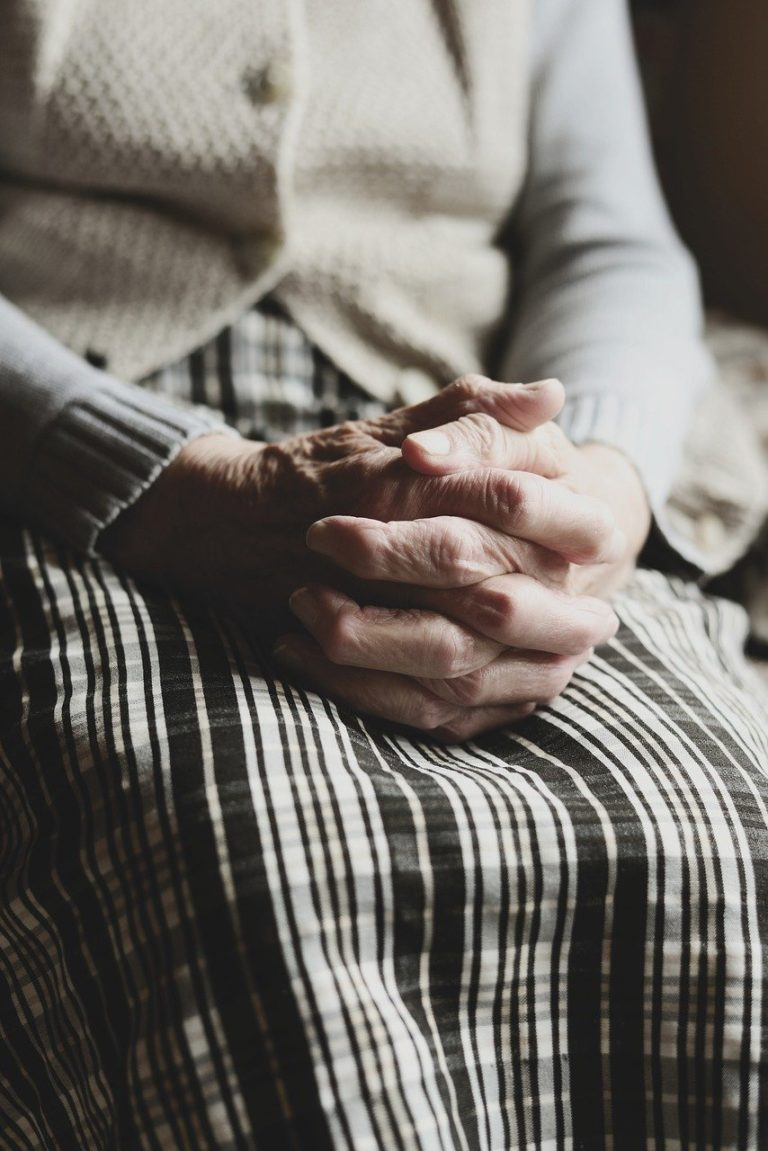 hands, human, old human